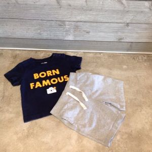 Boys 2pc outfit